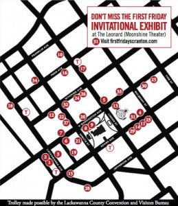 First Friday Map