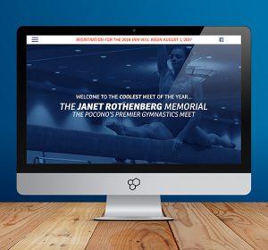 Janet Rothenberg Memorial Meet Website Design